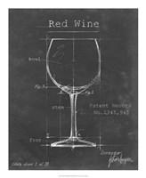 Barware Blueprint III Framed Print