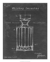 Barware Blueprint VII Framed Print