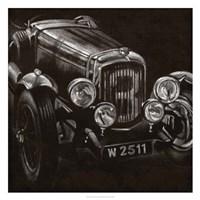 Vintage Grand Prix I Framed Print