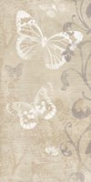 Butterfly Forest II Framed Print