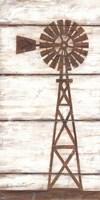 Farmhouse Windmill II Framed Print