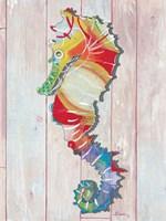 Seahorse I Framed Print