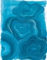 Blue Agate Fine Art Print
