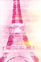 Pink Words Fine Art Print