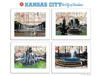 KC City of Fountains Fine Art Print