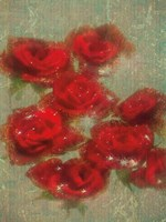 Country Music Roses Fine Art Print