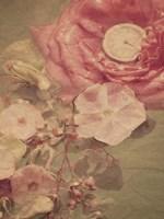 The Garden Clock Fine Art Print