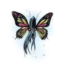 Squiderfly Fine Art Print