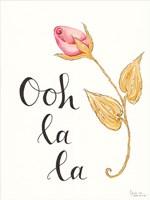 Ooh La La Framed Print