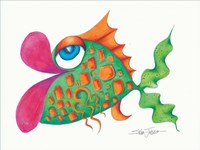 Flamboyant Fish III Framed Print