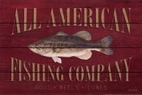 All American Fishing Fine Art Print