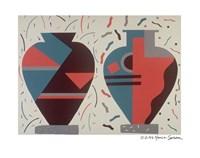 Santa Monica Vases Fine Art Print
