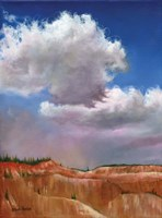 Blanket Over Bryce Fine Art Print