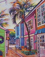 Courtyard Palm Fine Art Print
