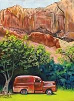 Rusted in Springdale Fine Art Print