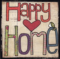 Happy Home Fine Art Print