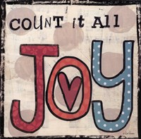 Count It All Joy Fine Art Print