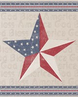 Barn Star Fine Art Print