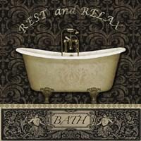 Bath I Fine Art Print