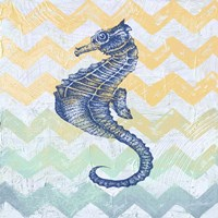 Chevron Sea Horse Fine Art Print