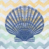 Chevron Shell Fine Art Print