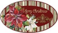 Christmas Time - OvalL Platter Fine Art Print
