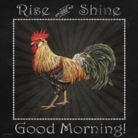 Good Morning Rooster II Fine Art Print