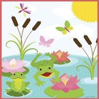 Frog Pond II Fine Art Print