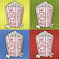 Popcorn Pop Art II Framed Print