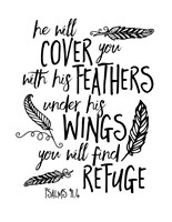 Cover You With Feathers Fine Art Print