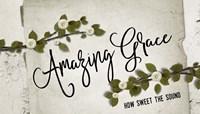 Amazing Grace Floral Fine Art Print