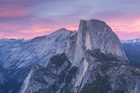 Mountian Top at Sunset Fine Art Print