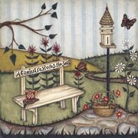 A Garden Restores The Soul Fine Art Print