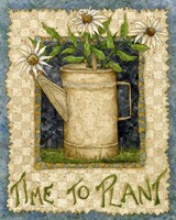 Time To Plant Fine Art Print
