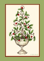 Holly Tree Topiary Fine Art Print
