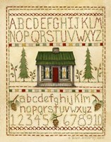 Woodsy Sampler Fine Art Print