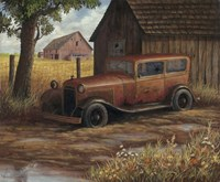 The Old Ford Fine Art Print