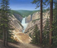 Lower Falls - Yellowstone Fine Art Print