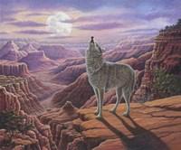 Howling Wolf Fine Art Print
