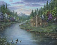 The Cabin Fine Art Print