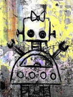 Girl Robot Color Fine Art Print