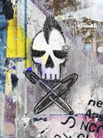 Punk Skull Fine Art Print