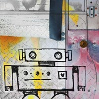 Short Bot Fine Art Print