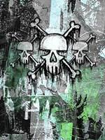 Triple Skulls Fine Art Print