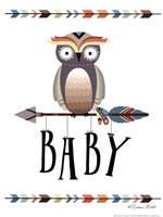 Owl Baby Fine Art Print