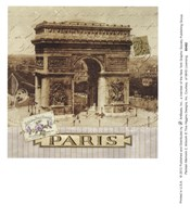 Parisian Memoirs 2 Fine Art Print
