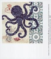 Sea Life Octopus Fine Art Print