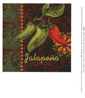 Chiles Jalepeno Fine Art Print