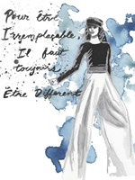 Fashion Quotes IV Fine Art Print