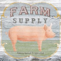 Farm Supply II Framed Print